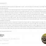 'Olifantenpaadjes' zomerkaart 2013 achterzijde